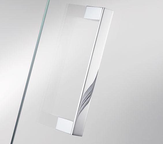 Handtuchhalter Dusche Glas : T?rgriff eckig, auch als Handtuchhalter zu verwenden,